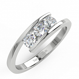 db82ec359 Diamantový prsten TD60