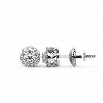 Diamond Earrings TDE02S