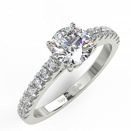 016638637 Diamantový prsten TD63