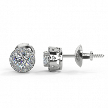 Diamond Earrings TDE02
