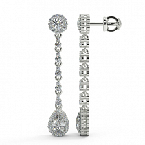 Diamond Earrings TDE23