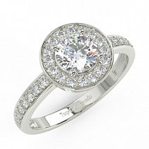 Diamond ring TD18